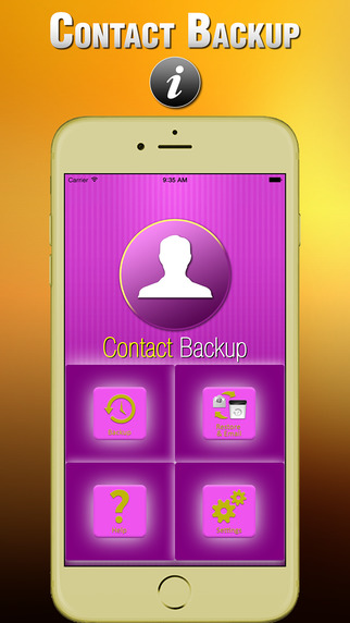 Contacts Backup Transfer