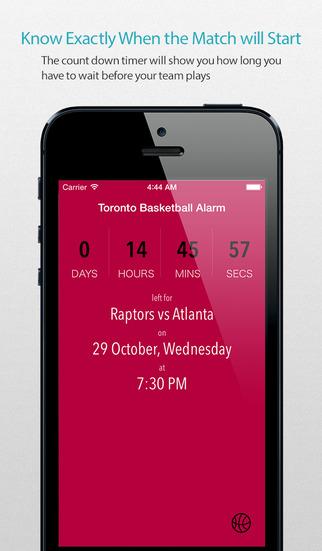 Toronto Basketball Alarm