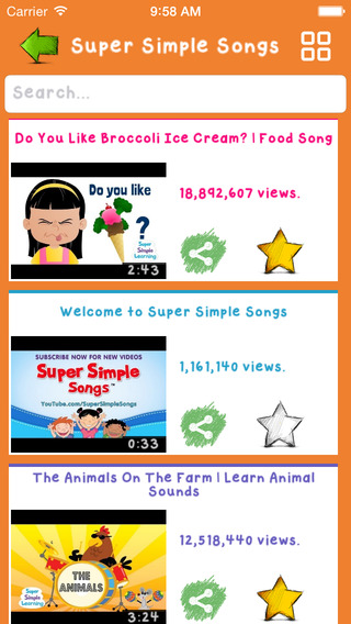 教育必備免費app推薦|Videos for Kids (Famous Nursery Rhymes & Sweet Lullaby Songs)線上免付費app下載|3C達人阿輝的APP