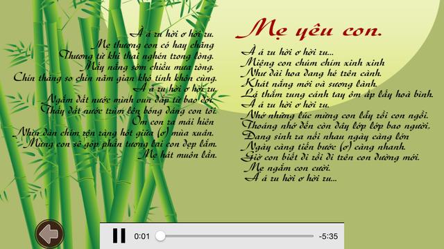 Ru Con Ba Miền Nhạc cho bé - Hát ru bé ngủ Vietnamese lullabies
