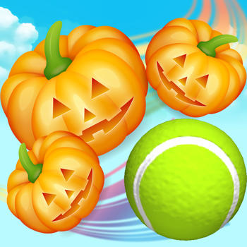 Pumpkin vs Tennis - Halloween Game LOGO-APP點子