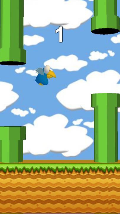 小鸟快跳 - 像素鸟3d版