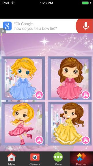 Princess Fairytale Photo Frames for Girls