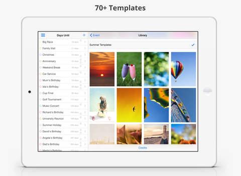 Days Until iPad Screenshot 2