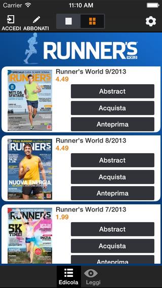 Runner's World Italia
