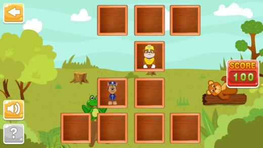 Matching Blocks Game: For Paw Patrol Edition