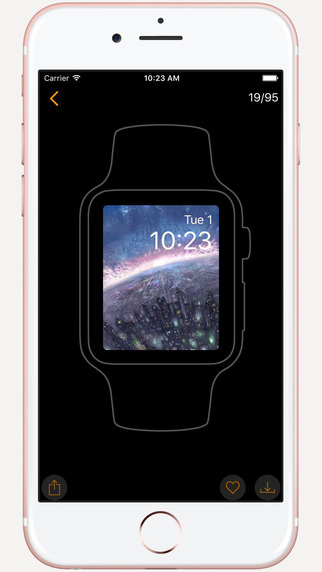 Watch BG - Wallpapers & Backgrounds for Watch|玩書籍App免費|玩APPs
