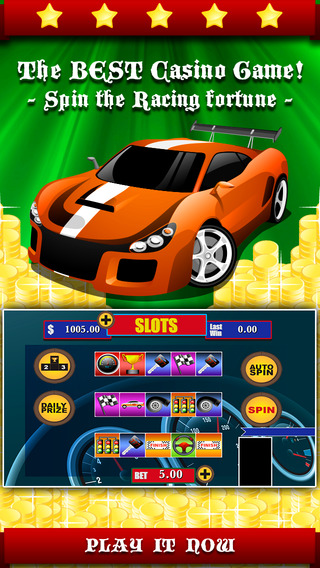 AAA Racing Racer Slots - Spin the crazy wheel rivals to win the moto jackpot