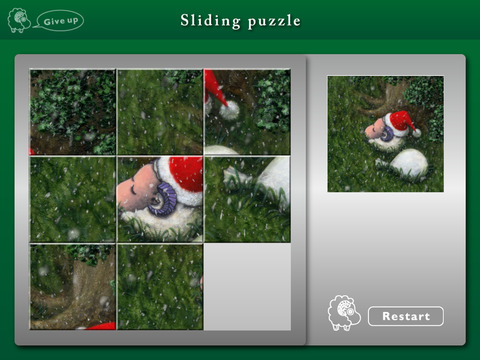 STRAY SHEEP Poe's Christmas iPad Screenshot 5
