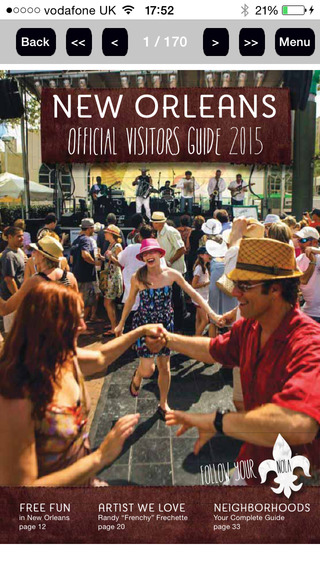 New Orleans Official Visitors Guide