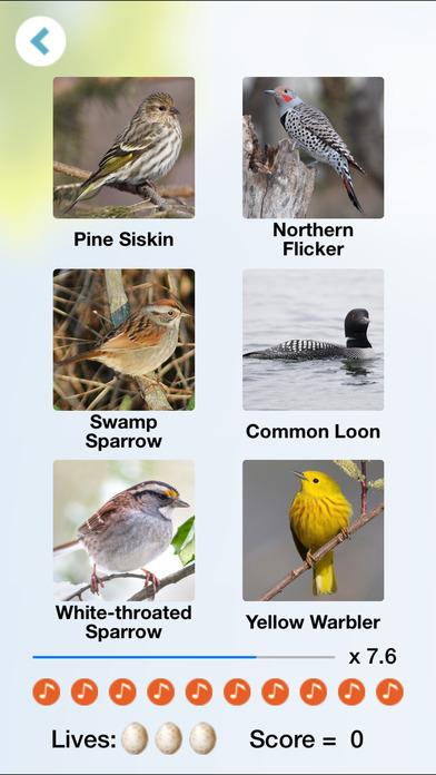 Chirp! Bird Songs Canada iPhone Screenshot 3