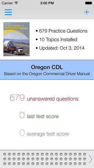 Oregon CDL Test Prep
