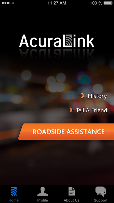 Acuralink roadside assistance app data review for Cross country motor club phone number