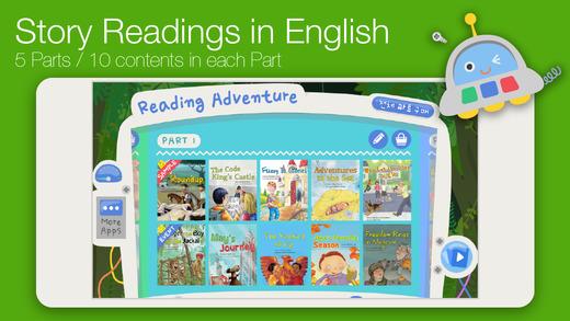 Reading Adventure Level 4