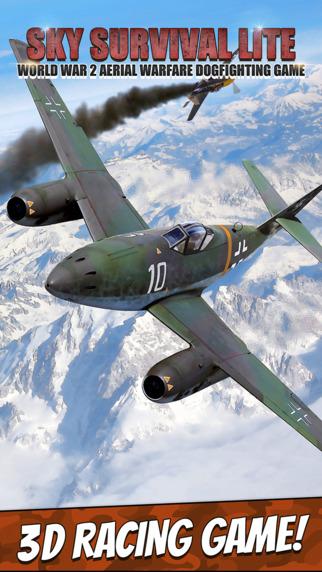 Sky Survival Lite - World War 2 Aerial Warfare Dogfighting Game