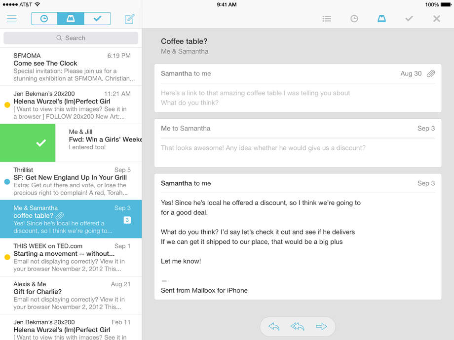 Mailbox - iPhone Mobile Analytics and App Store Data