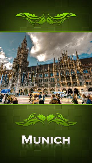 Munich City Offline Travel Guide