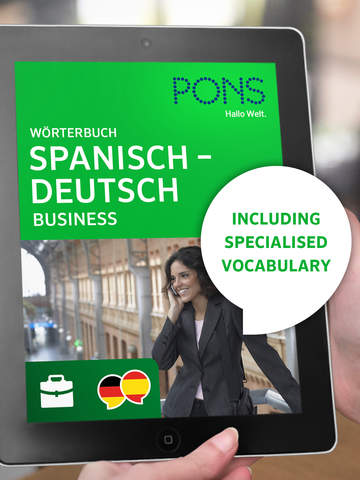Screenshot of Dictionary Spanish - German BUSINESS by PONS