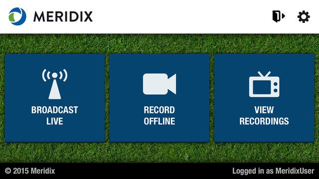 Meridix Live Sports Broadcaster