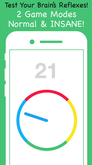 Dizzy Dial - Test Your Brain's Reflexes Game