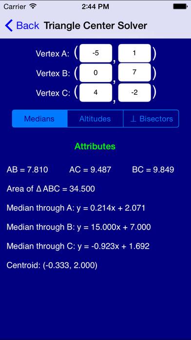 Geometry Pro iPhone Screenshot 2