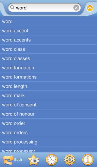 EnglishGerman Dictionary Free