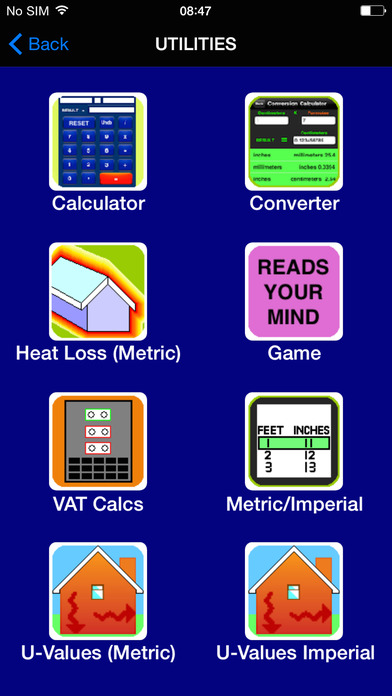 BuildersCalcsPro iPhone Screenshot 2