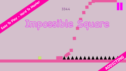 Impossible square: iSquare challenge