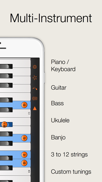Reverse Chord Finder Pro - Inverse Chord Dictionary for Songwriters, Musicians, Composers and Music Students iPhone Screenshot 2