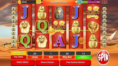 Screenshot 2 Слоты — Way короля Тута: Фараон Нила казино