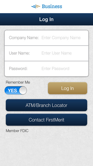 FirstMerit Business Mobile Banking