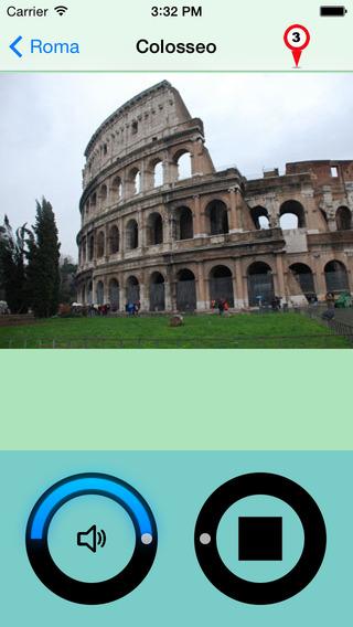 Roma Giracittà - Audioguida iPhone Screenshot 2