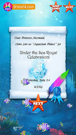 Princess Marmaid Spa Day