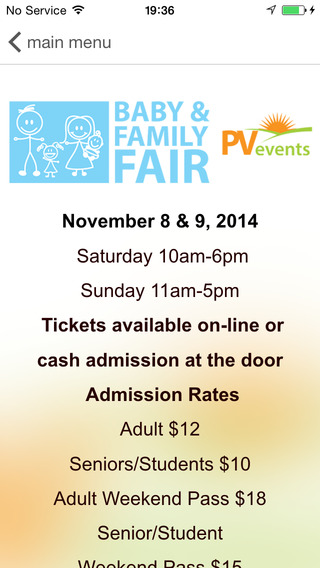 VANCOUVER BABY FAMILY FAIR