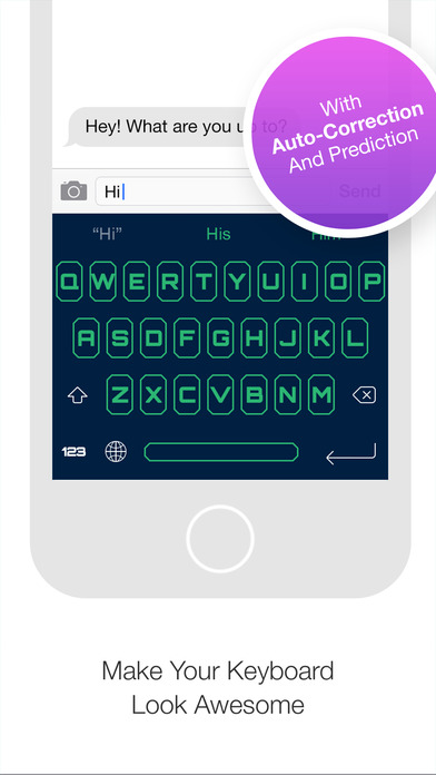 Screenshots of Pimp My Keyboard - Customize Keyboard - Custom and Edit it in Your Own Style for iPhone