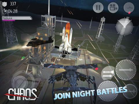 C.H.A.O.S Copters de combat HD iPad