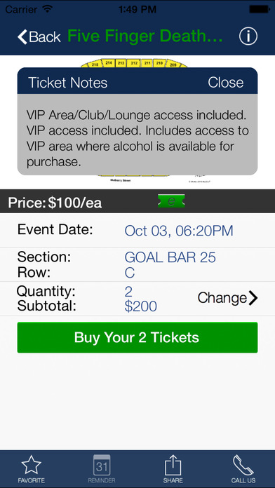 ticketgenie iPhone Screenshot 5