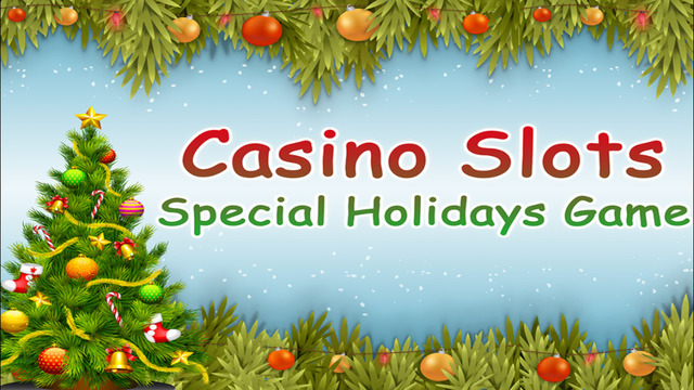 Casino Slots Special Holidays Game