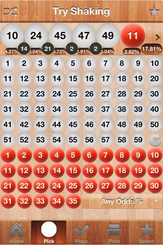 Powerball Scan screenshot 3