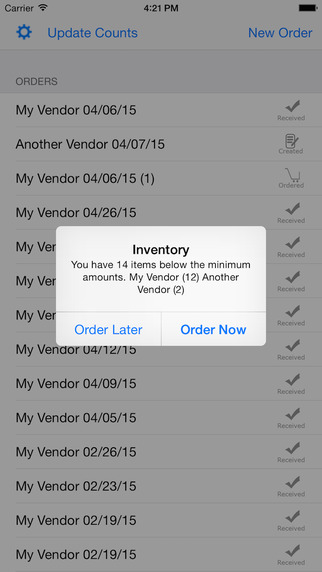 Restaurant Inventory Management - Small and Medium Business Easy and Hassle Free Software