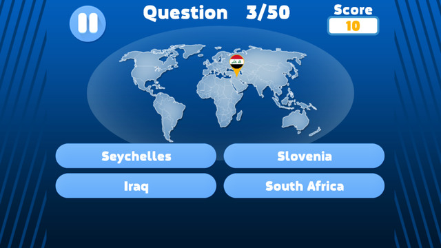 Geographical Map Quiz