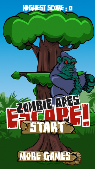 Zombie Apes Escape