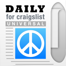 Daily, an app for craigslist for iPhone and iPad - Shopping, Cars, Dating, Jobs + Other Mobile Classifieds - iOS Store App Ranking and App Store Stats
