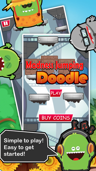 Madness Jumping Doodle HD - Extreme Crazy Fun Game for Boys and Girls