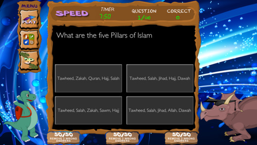 Islamic Quiz Games - the Number 1 App for Muslim Kids