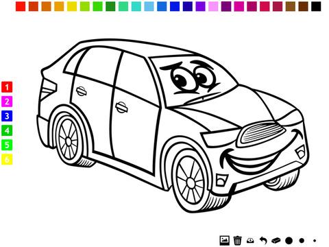 图画书 :汽车儿童的 学画画 汽车