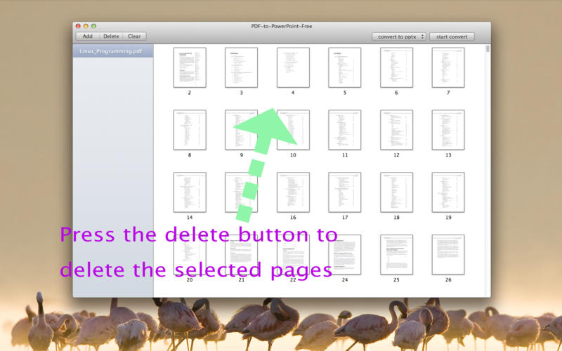 PDF-to-PowerPoint-Free Screenshot - 2