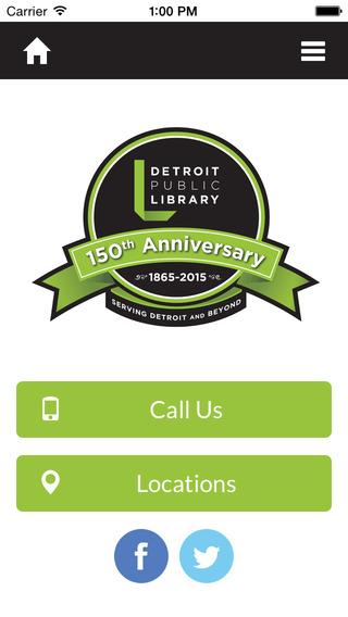 Detroit Public Library Mobile