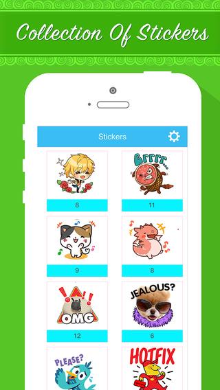Stickers Chat icon Sticker for WhatsApp Viber Zalo Webo Instagram Line SnapChat