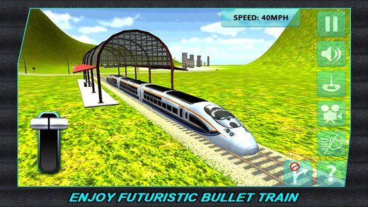Real Train Driver Simulator 3D – drive the engine on railway lines and reach the destination in time